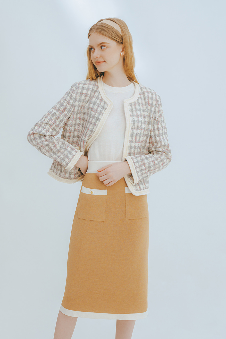 Asti camel skirt (set up)
