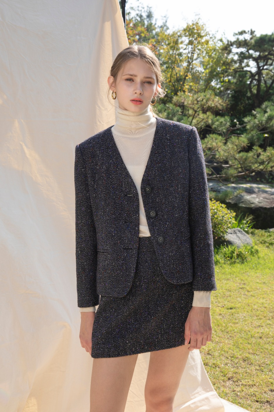 Lecce Tweed Jacket