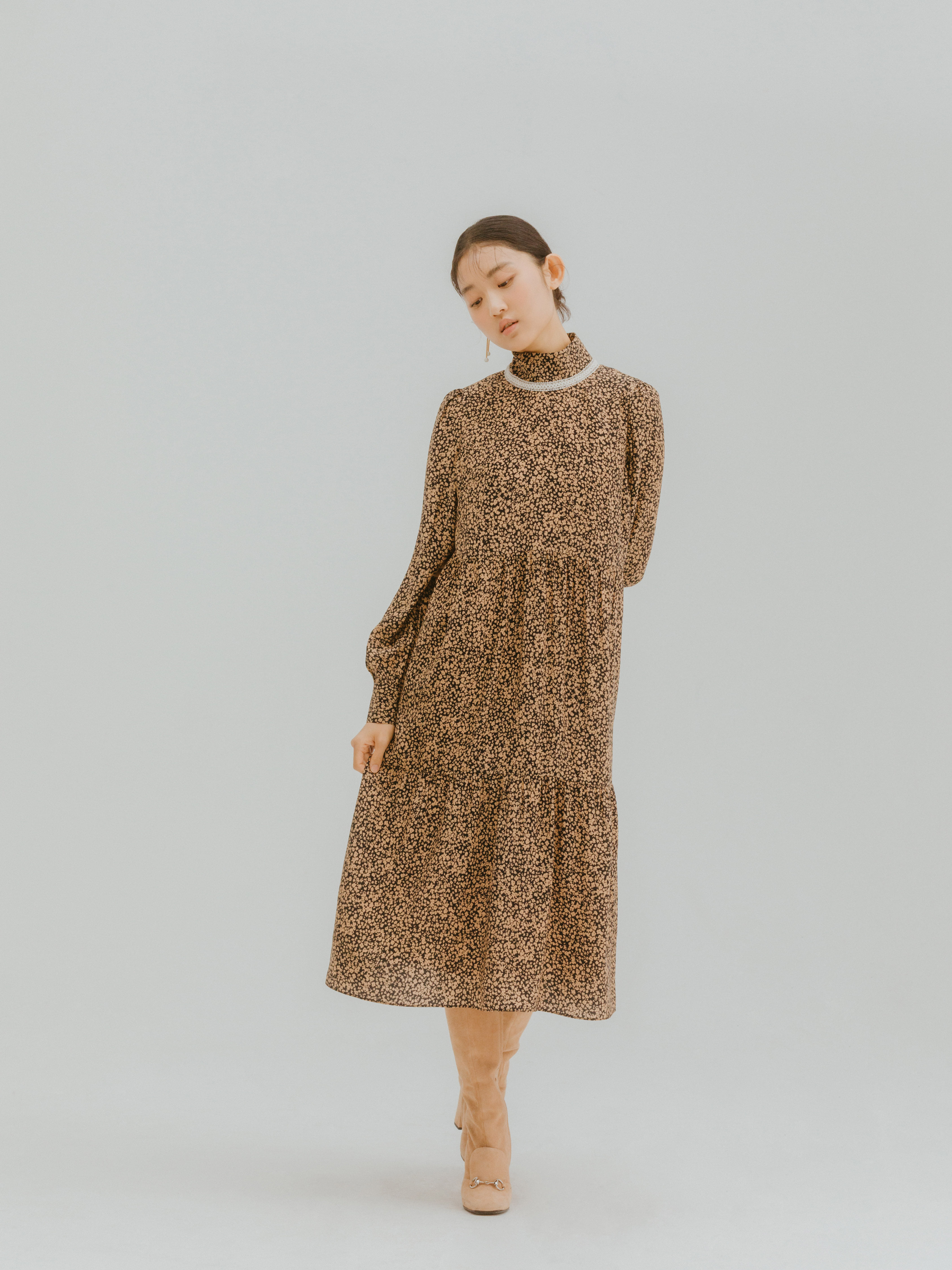 Jelsi dress(Brown) 2차 입고