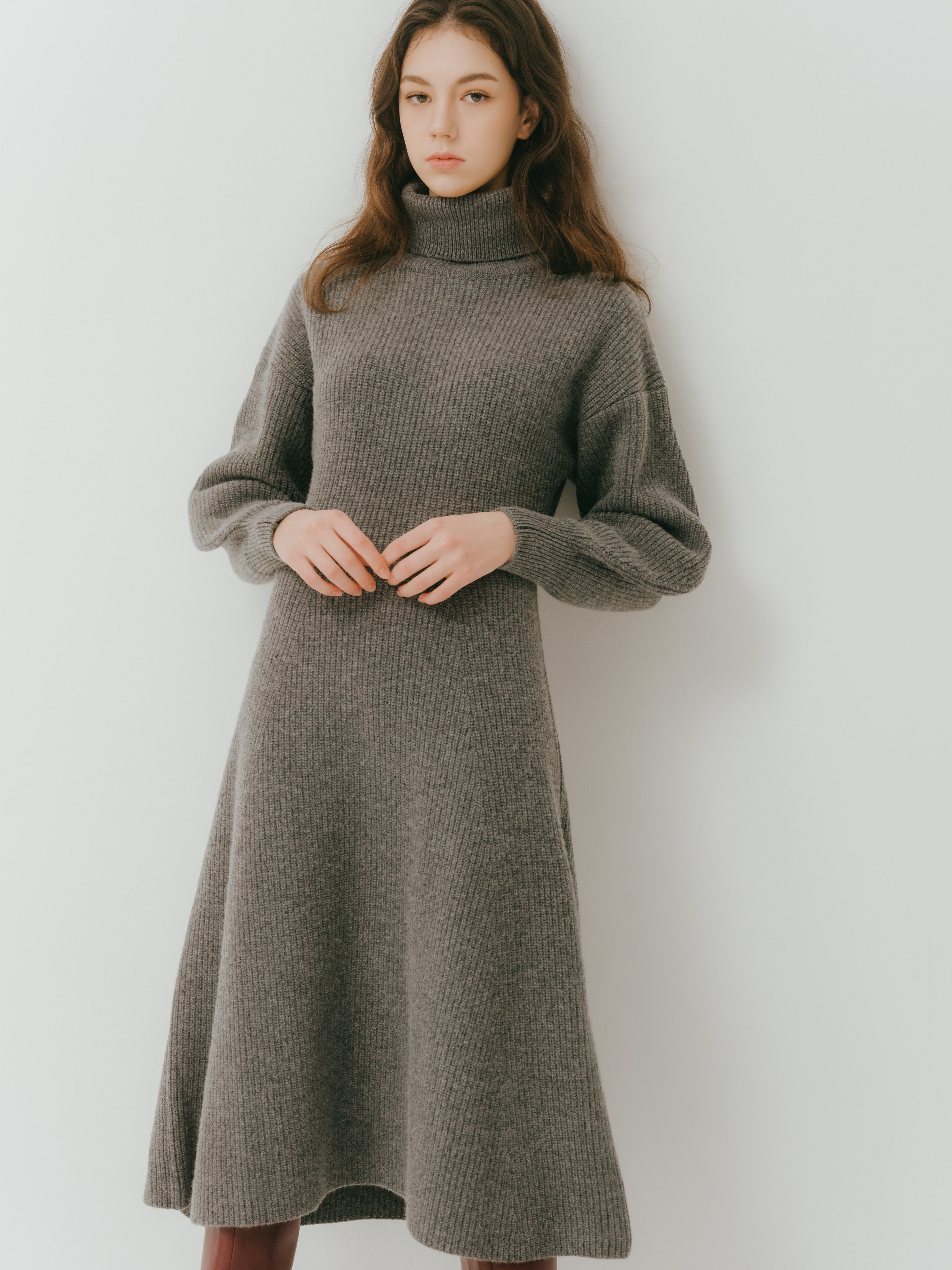 Ribre dress(Gray) 2차 입고