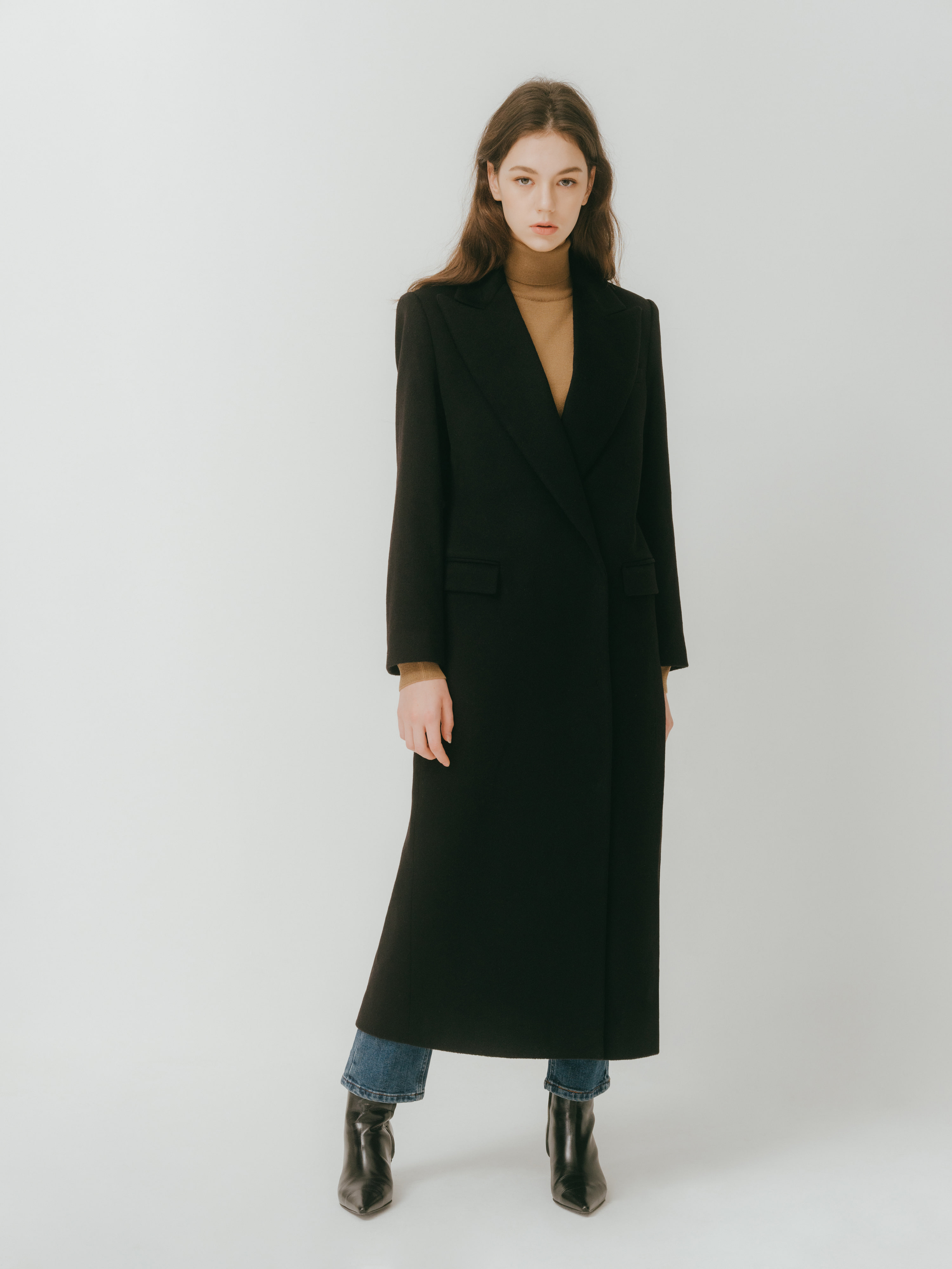 Brien cashemere coat